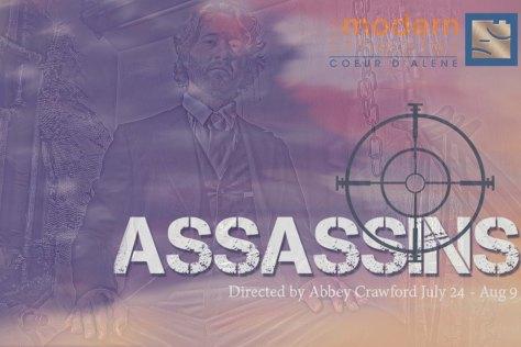 Assassins Placard - Booth