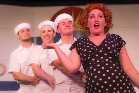 Joshua Fox in 'Anything Goes Photo by Rebecca Moore Photography